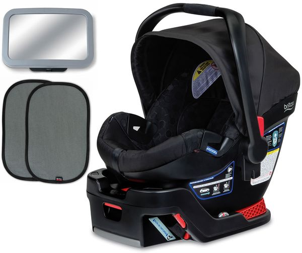 Britax B-Safe 35 Infant Car Seat Bundle - Black