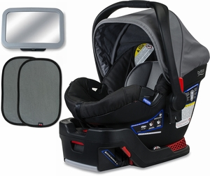 Britax B-Safe 35 Infant Car Seat Bundle - Dove