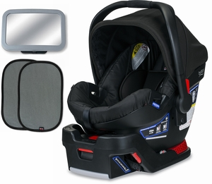 Britax B-Safe 35 Infant Car Seat Bundle - Raven