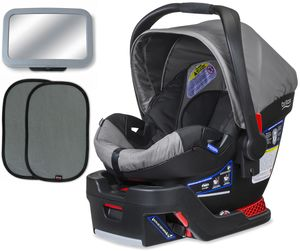 Britax B-Safe 35 Infant Car Seat Bundle - Steel