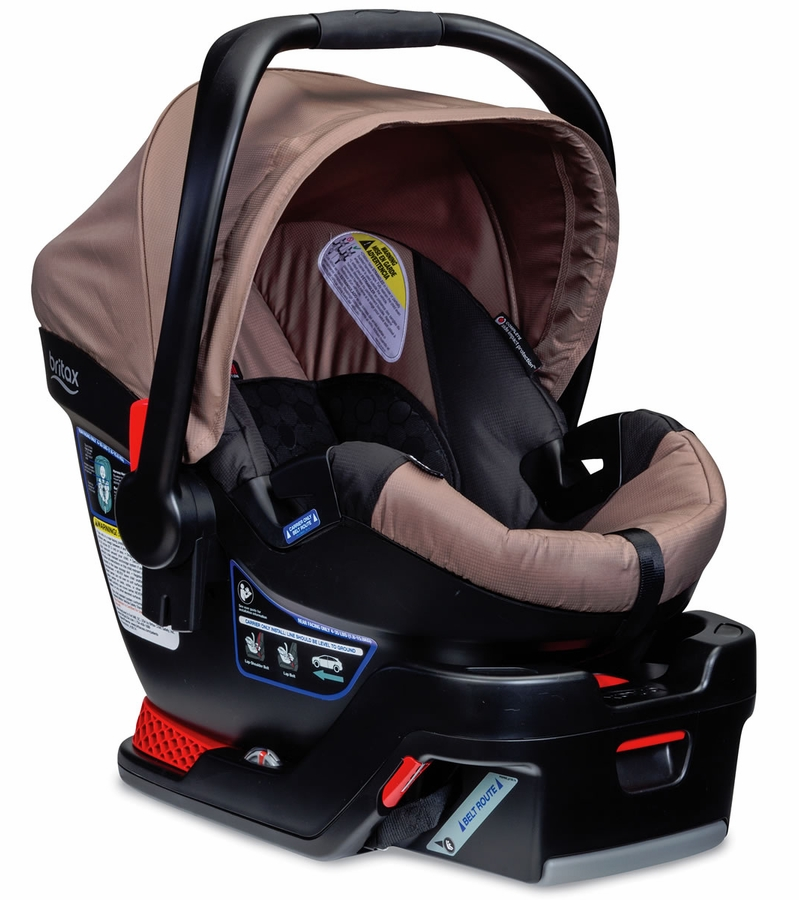 britax b safe 35 infant car seat sandstone. Black Bedroom Furniture Sets. Home Design Ideas