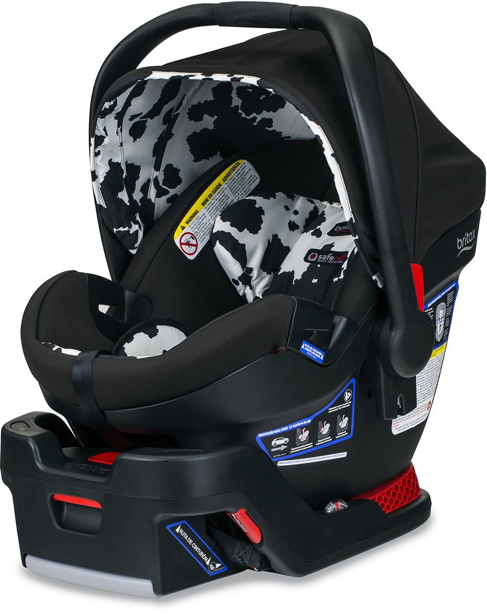 britax b safe ultra infant car seat cowmooflage. Black Bedroom Furniture Sets. Home Design Ideas