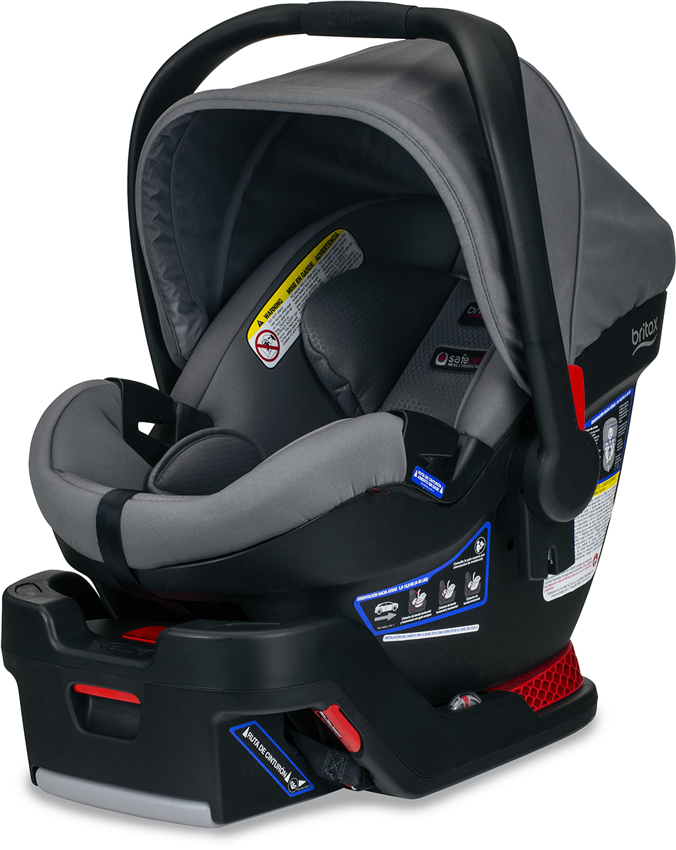 britax b safe ultra infant car seat gris. Black Bedroom Furniture Sets. Home Design Ideas