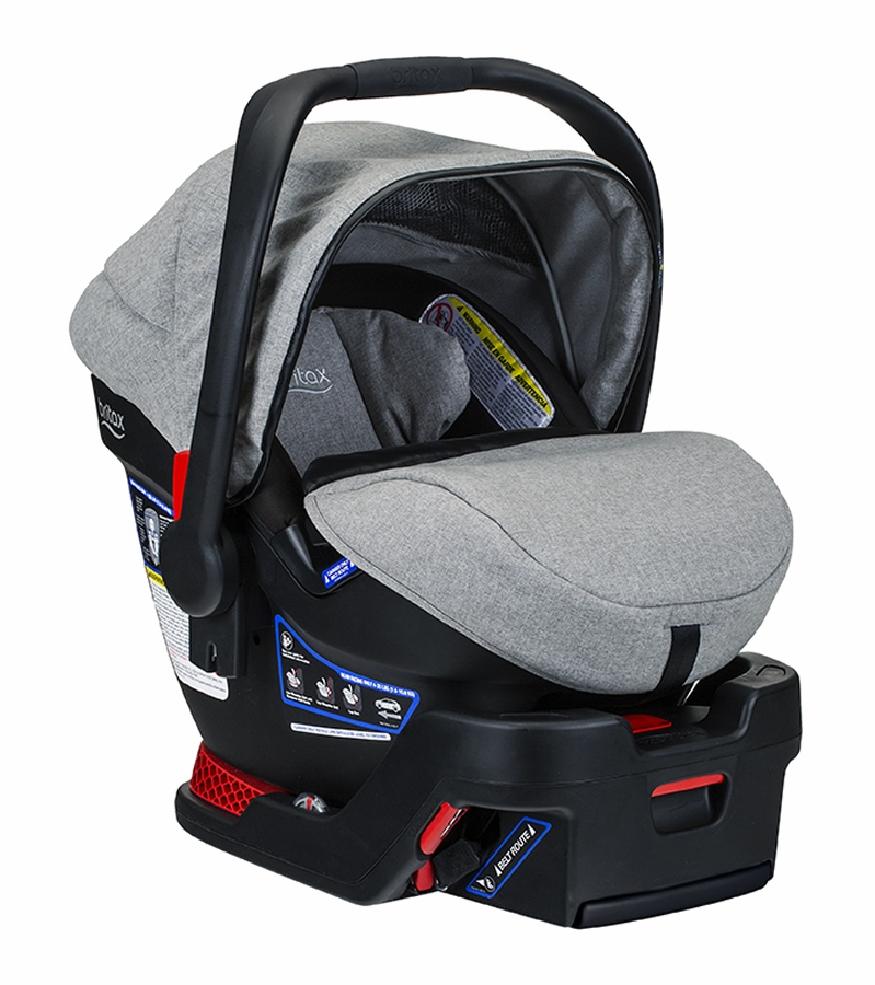 Britax B Safe Ultra Infant Car Seat Nanotex Moisture Odor And Stain Resistant Fabric