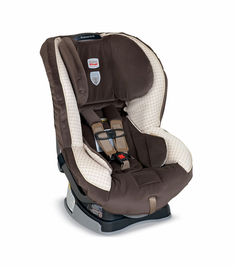Britax Boulevard 70 CS Car Seat in Biscotti