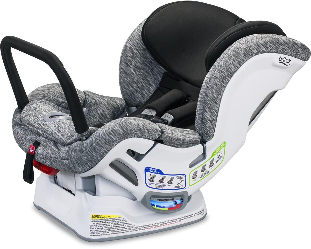 Convertible Car Seat: Britax Boulevard Clicktight ARB Convertible Car Seat