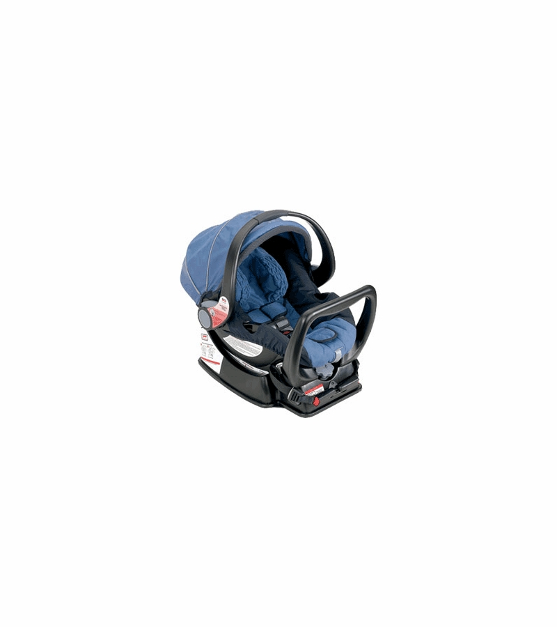 Britax Companion Infant Car Seat in Black Unity Blue