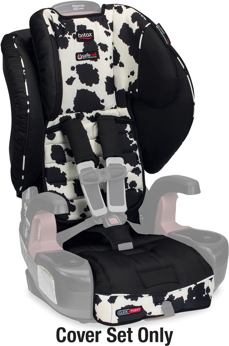 Britax Frontier Clicktight Harness Booster Car Seat Cowmooflage