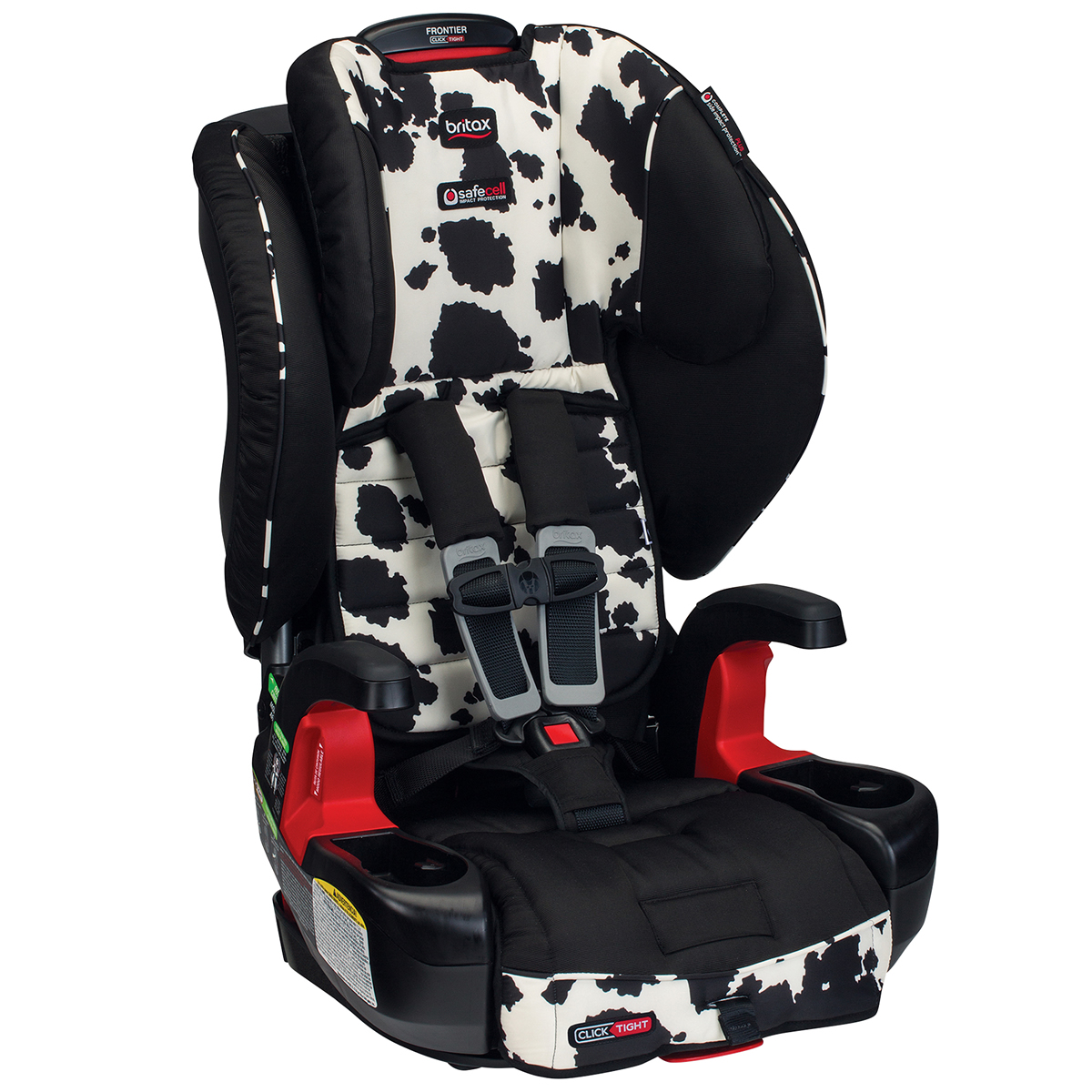 Britax Frontier ClickTight Harness Booster Car Seat - Cow...