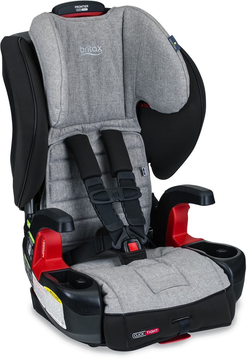 Britax Frontier Clicktight Harness Booster Car Seat Nanotex
