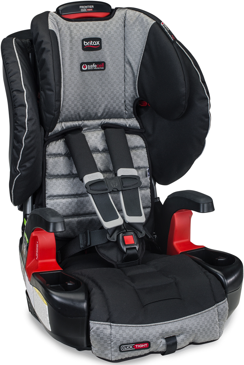 Britax Frontier ClickTight Harness Booster Car Seat - Sol...