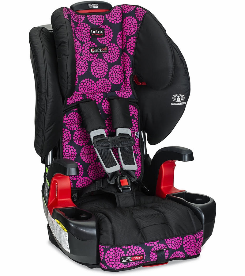 britex frontier car seat	  Britax Frontier ClickTight Harness Booster Car Seat - Broadway