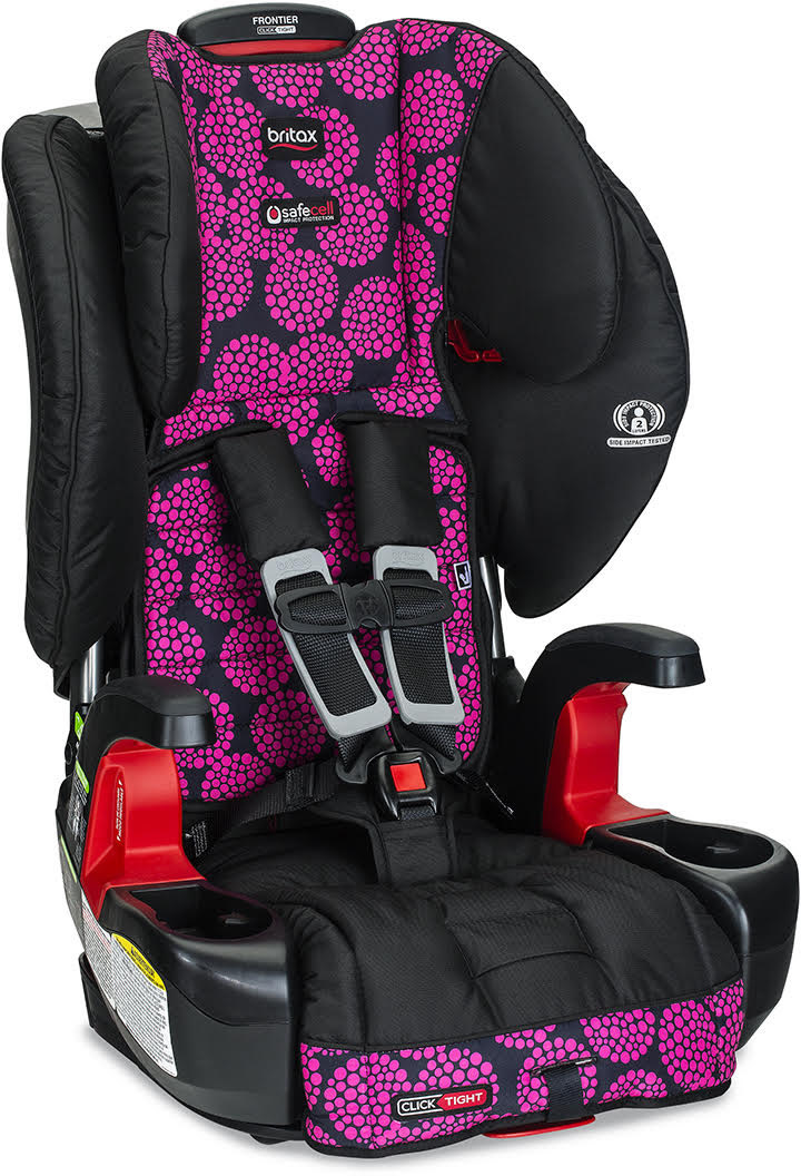 Britax Frontier ClickTight Harness Booster Car Seat - Bro...