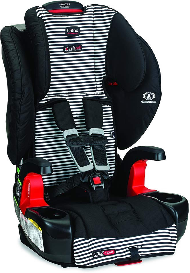 Britax Frontier ClickTight Harness Booster Car Seat - Tuxedo