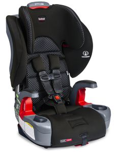 Britax Grow With You Clicktight Harness Booster Car Seat - Cool Flow Gray [New Version of the Frontier]