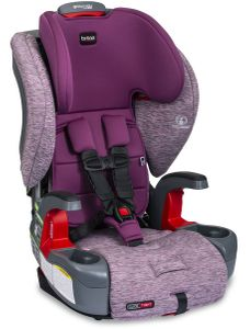 Britax Grow With You ClickTight Harness Booster Car Seat - Mulberry [New Version of the Frontier]
