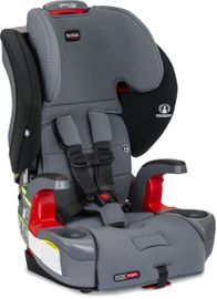 Britax Grow With You ClickTight Harness Booster Car Seat - Otto SafeWash (Flame Retardant-Free) (Albee Exclusive) [New Version of the Frontier]