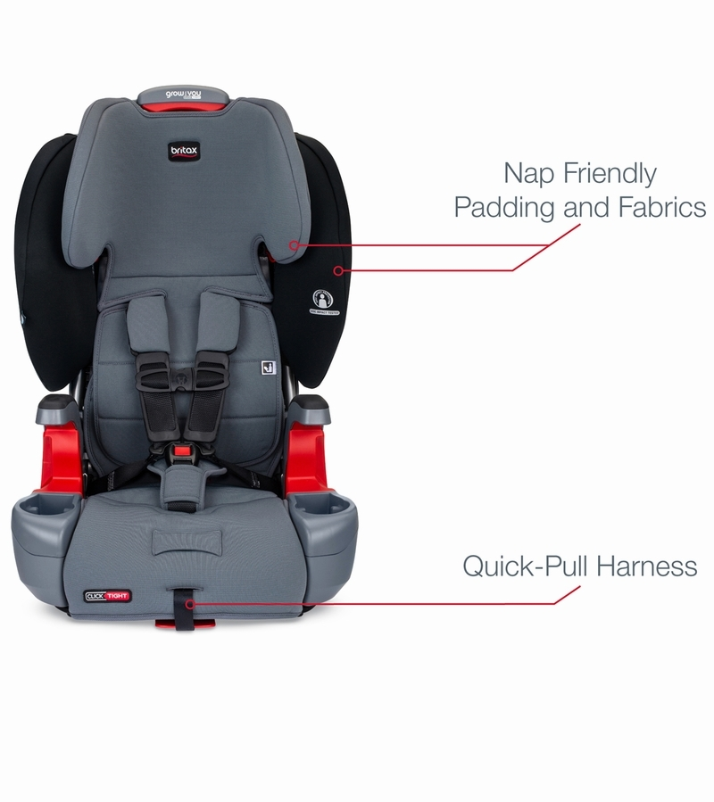 Britax Grow With You ClickTight Harness Booster Car Seat ...