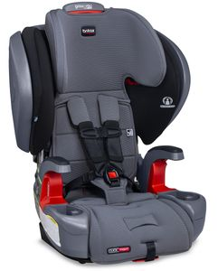 Britax Grow With You Clicktight Plus Harness Booster Car Seat - Otto Safewash (Flame Retardant-Free) [New Version of the Pinnacle]