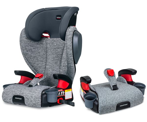 Britax Highpoint 2-Stage Belt Positioning Booster Car Seat - Asher