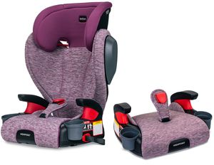 Britax Highpoint 2-Stage Belt Positioning Booster Car Seat - Mulberry