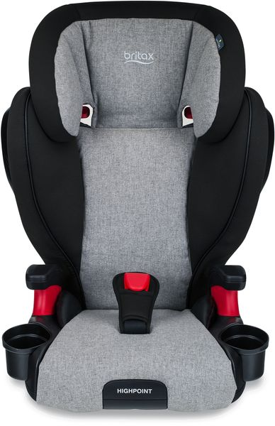 Britax Highpoint High Back Belt Positioning Booster Car Seat - Nanotex (Moisture, Odor, and Stain Resistant Fabric)
