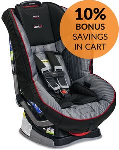 Britax Marathon G4.1 Convertible Car Seat - Jet Set