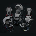 Britax Nanotex Collection: Moisture, Odor, and Stain Resistant Fabric