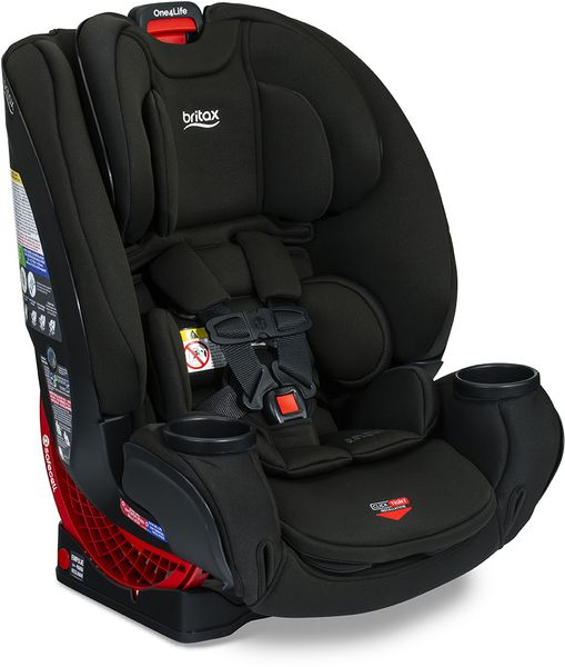 Britax One4Life Clicktight All-in-One Convertible Car Seat - Eclipse Black (Safewash)