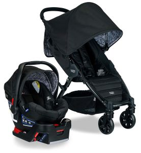 Britax Pathway & B-Safe Ultra Travel System - Sketch