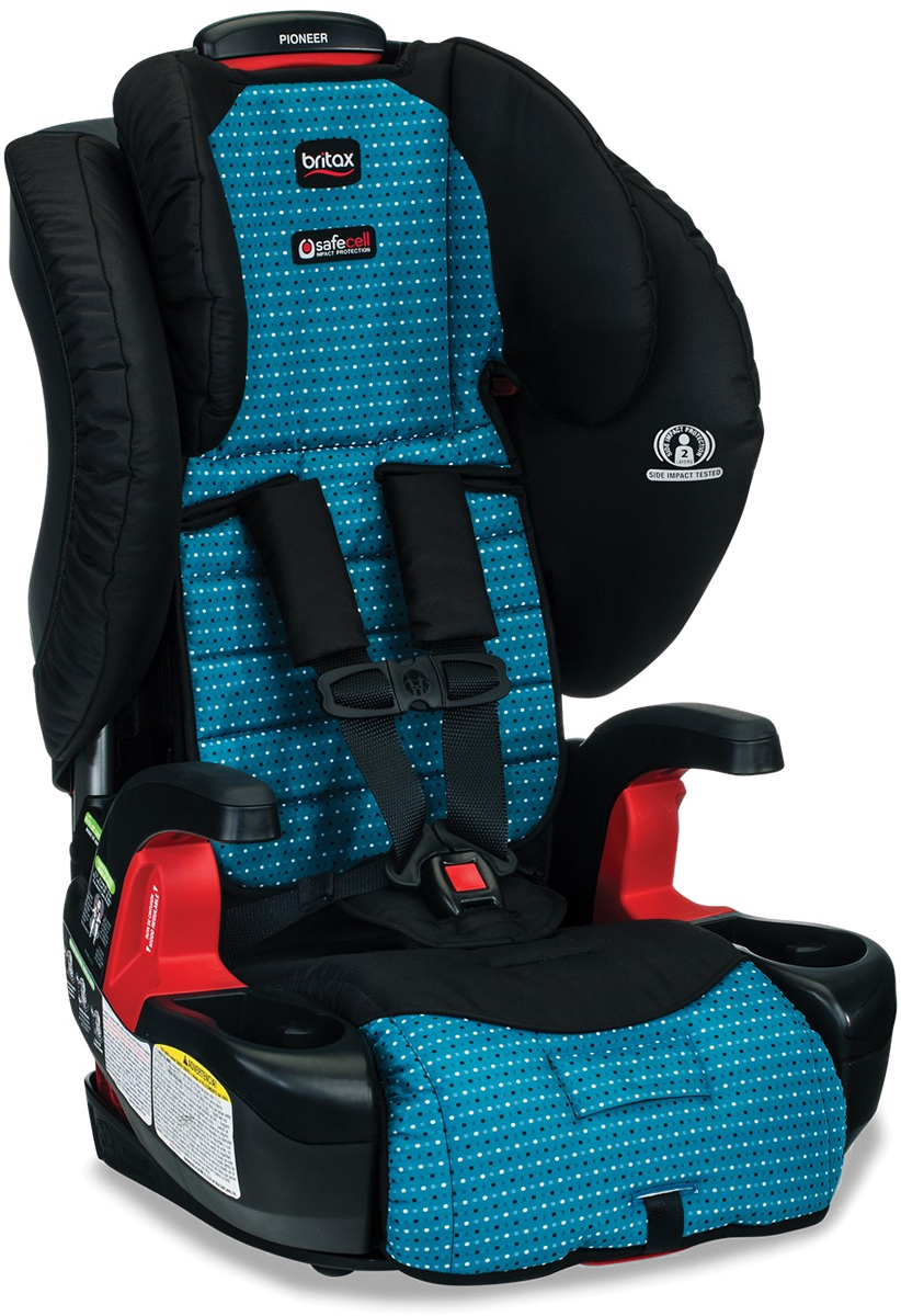 Britax Pioneer G1.1 Harness Booster Car Seat - Oasis