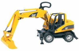 Bruder CAT Small Wheel Excavator