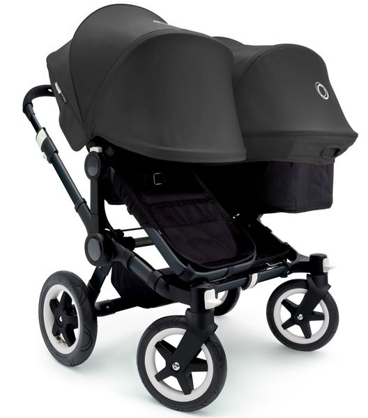 Bugaboo 2016/2017 Donkey Duo Stroller - All Black
