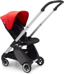 Bugaboo Ant Complete Stroller - Aluminum/Black/Neon Red