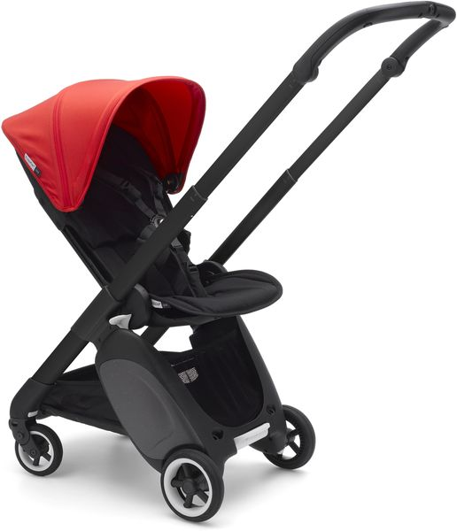 Bugaboo Ant Complete Stroller - Black/Black/Neon Red