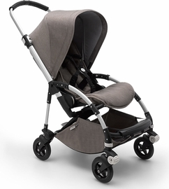 Bugaboo Bee5 Complete Stroller - Aluminum/Mineral Taupe