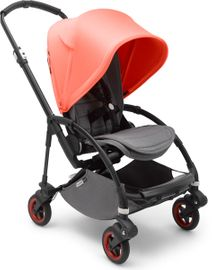 Bugaboo Bee5 Complete Stroller, Limited Edition - Black/Coral