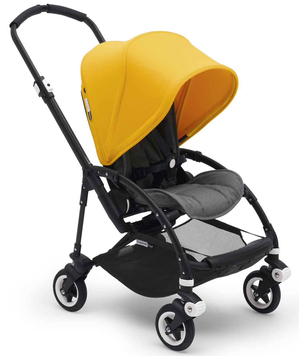 Bugaboo Bee5 Complete Stroller - Sunrise Yellow/Grey Melange