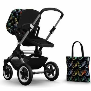 Bugaboo Buffalo Andy Warhol Accessory Pack - Marilyn/Black