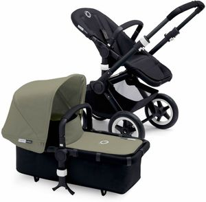 Bugaboo Buffalo Stroller - All Black/Dark Khaki