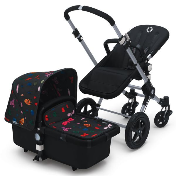 Bugaboo Cameleon 3 Andy Warhol Tailored Fabric - Happy Bugs
