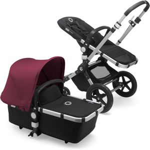 Bugaboo Cameleon 3 Plus Complete Stroller - Aluminum/Black/Ruby Red