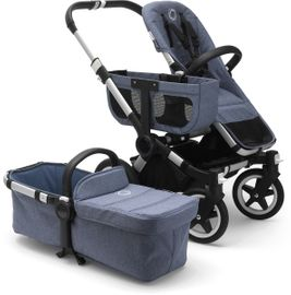 Bugaboo Donkey 2 Base Fabric - Blue Melange