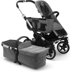 Bugaboo Donkey 2 Base Fabric - Grey Melange