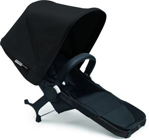 Bugaboo Donkey 2 Duo Complete Extension Set - Black/Black