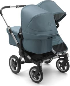 Bugaboo Donkey 2 Duo Complete Stroller - Aluminum/Track