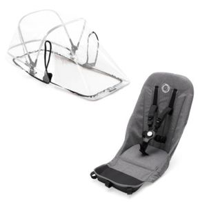 Bugaboo Donkey 2 Duo Fabric Set - Grey Melange