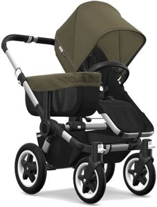 Bugaboo Donkey 2 Mono Complete Stroller - Aluminum/Black/Olive Green