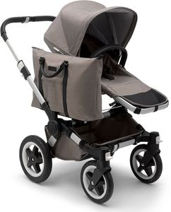 Bugaboo Donkey 2 Mono Complete Stroller - Aluminum/Mineral Taupe