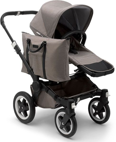 Bugaboo Donkey 2 Mono Complete Stroller - Black/Mineral Taupe